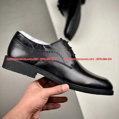 Giày ECCO đen nhập khẩu năm 2021, BC100