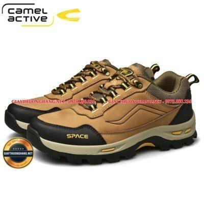Giày da bò nam Camel Space 2021, Mã BC20856