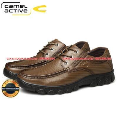 Giày da đế êm cho nam hãng Camel 2021 BC20866