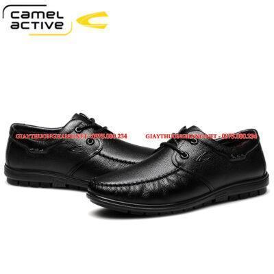 Giày da dê mềm Camel Active nam chính hãng, BC1758