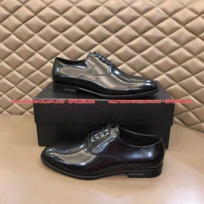 Giày tây hãng Prada da bóng hàng nhập full box